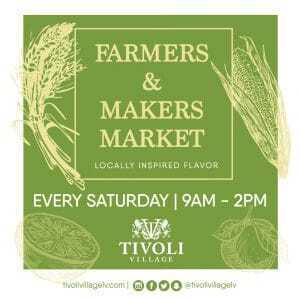 Tivoli Village Farmers market