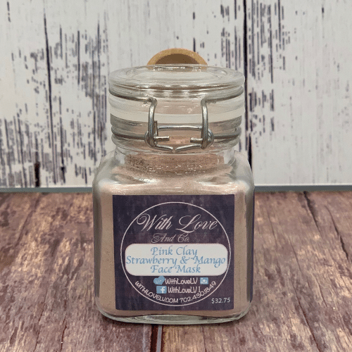 Face Mask - Pink Clay