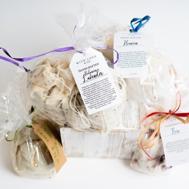 bath tea bags image